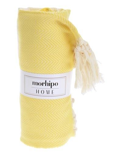 Morhipo Home Saçaklı Peştemal Sarı